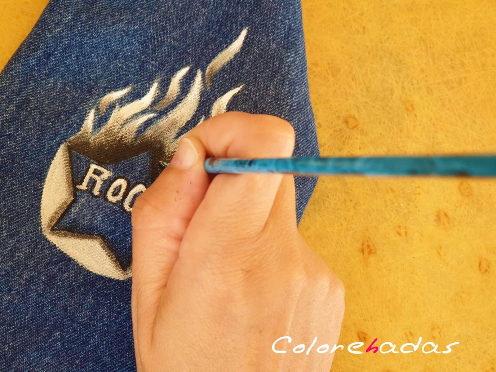 pintando rock