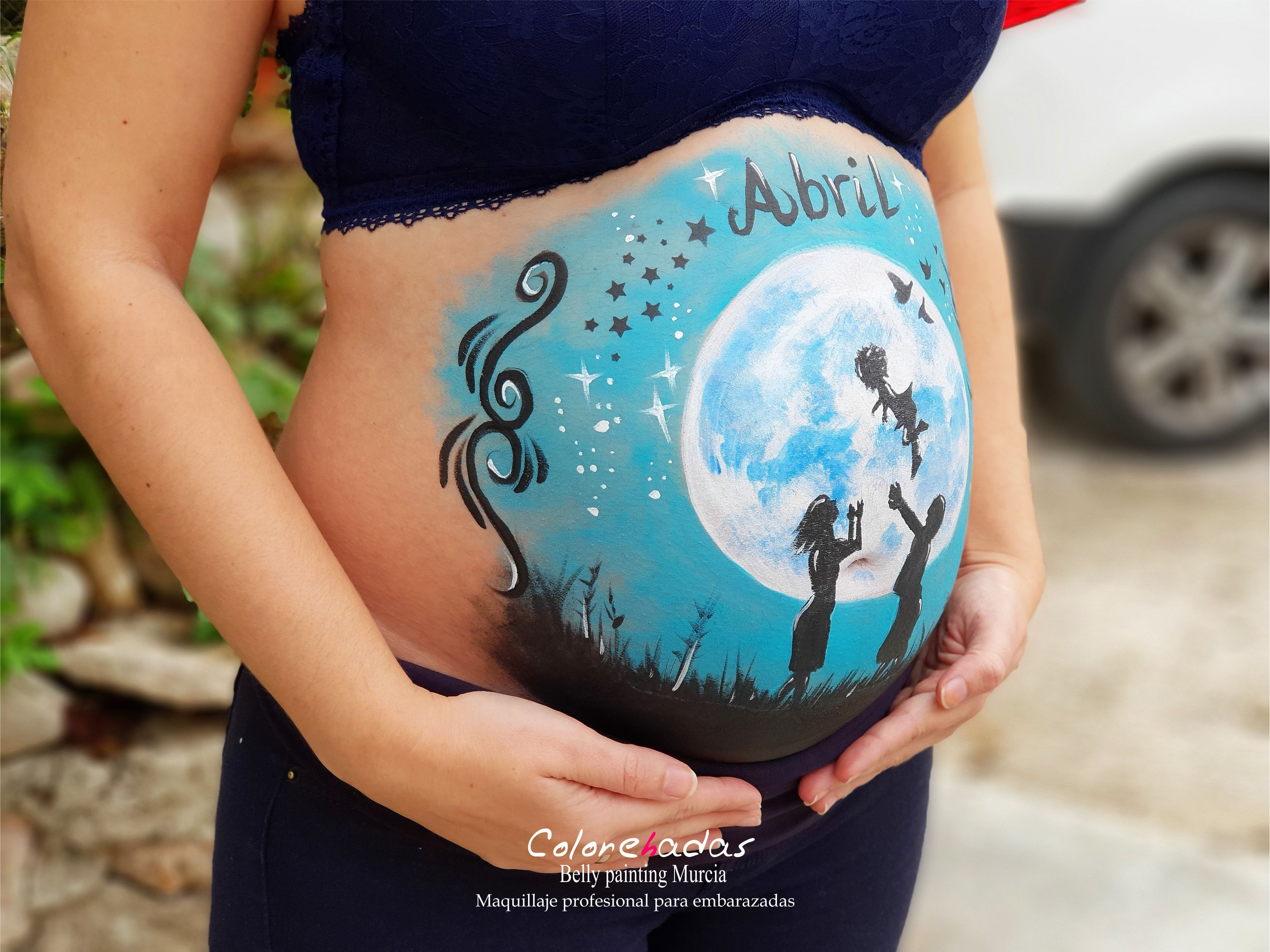 Belly painting logo 2