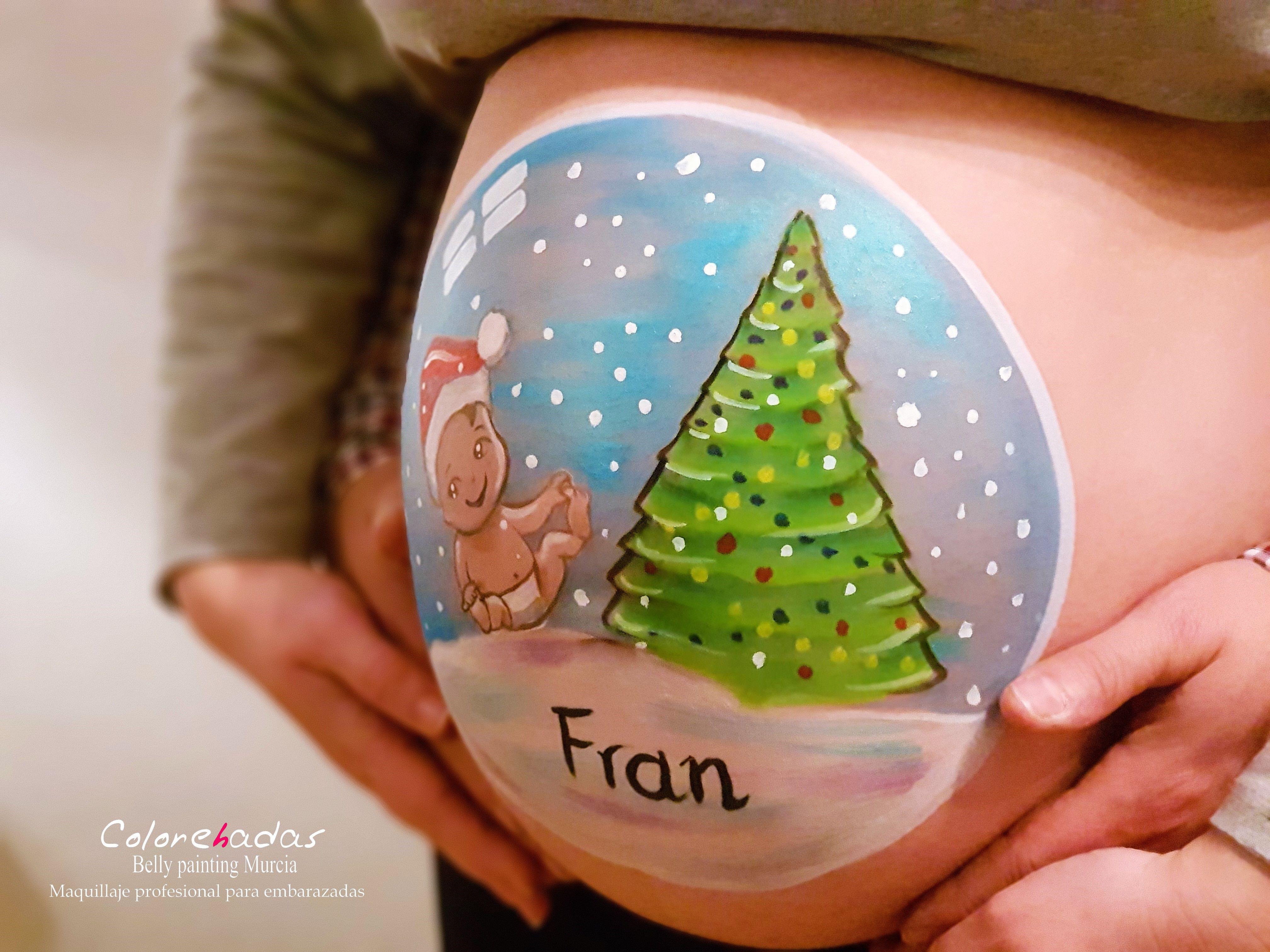 Bola de Navidad bebé 3 logo
