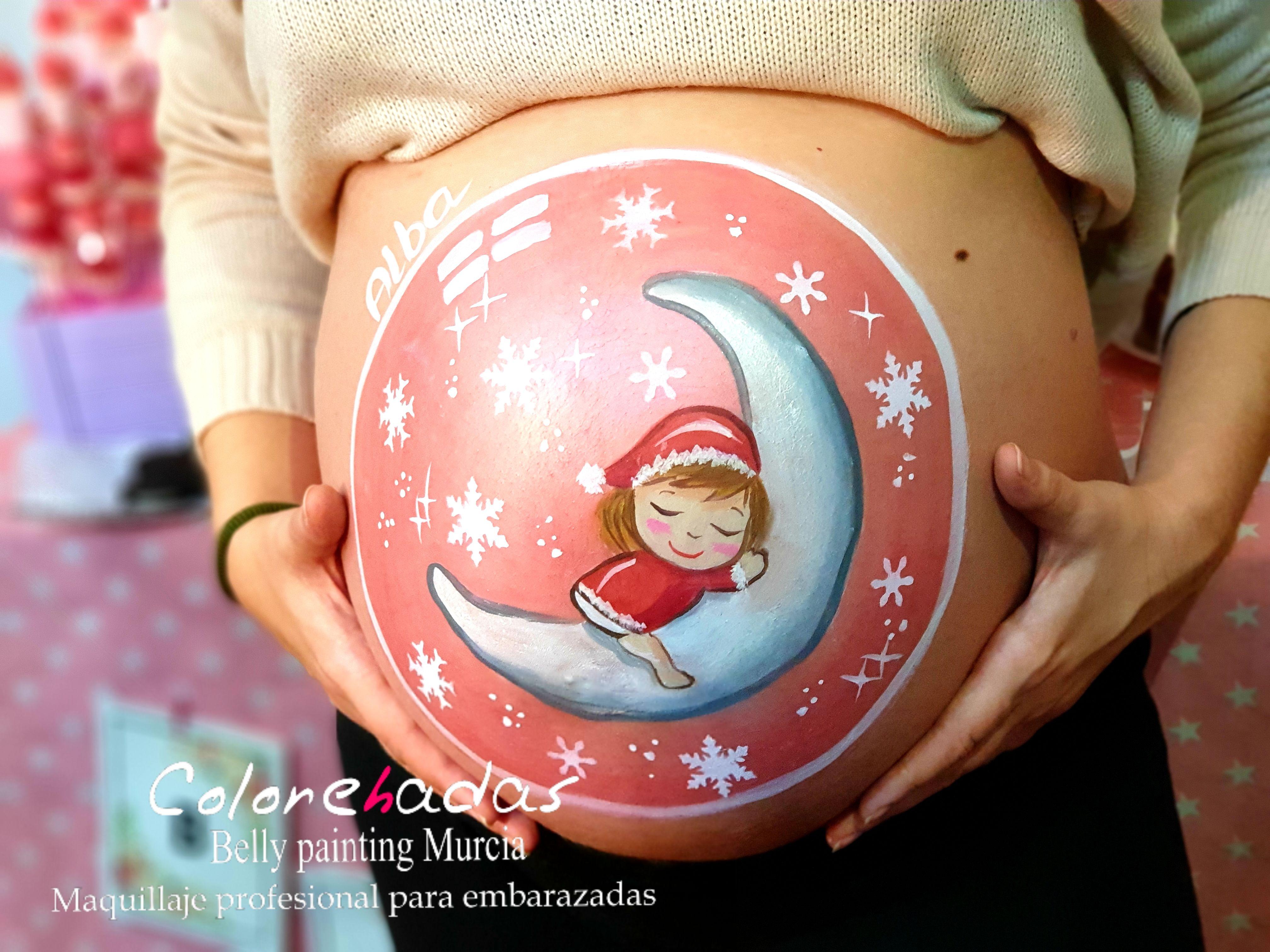 Bebé luna Navidad 3